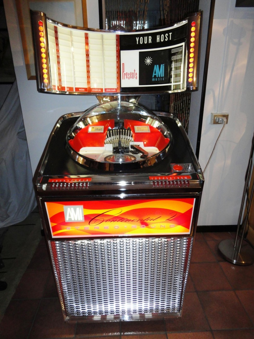 jukebox ami continental 2 100
