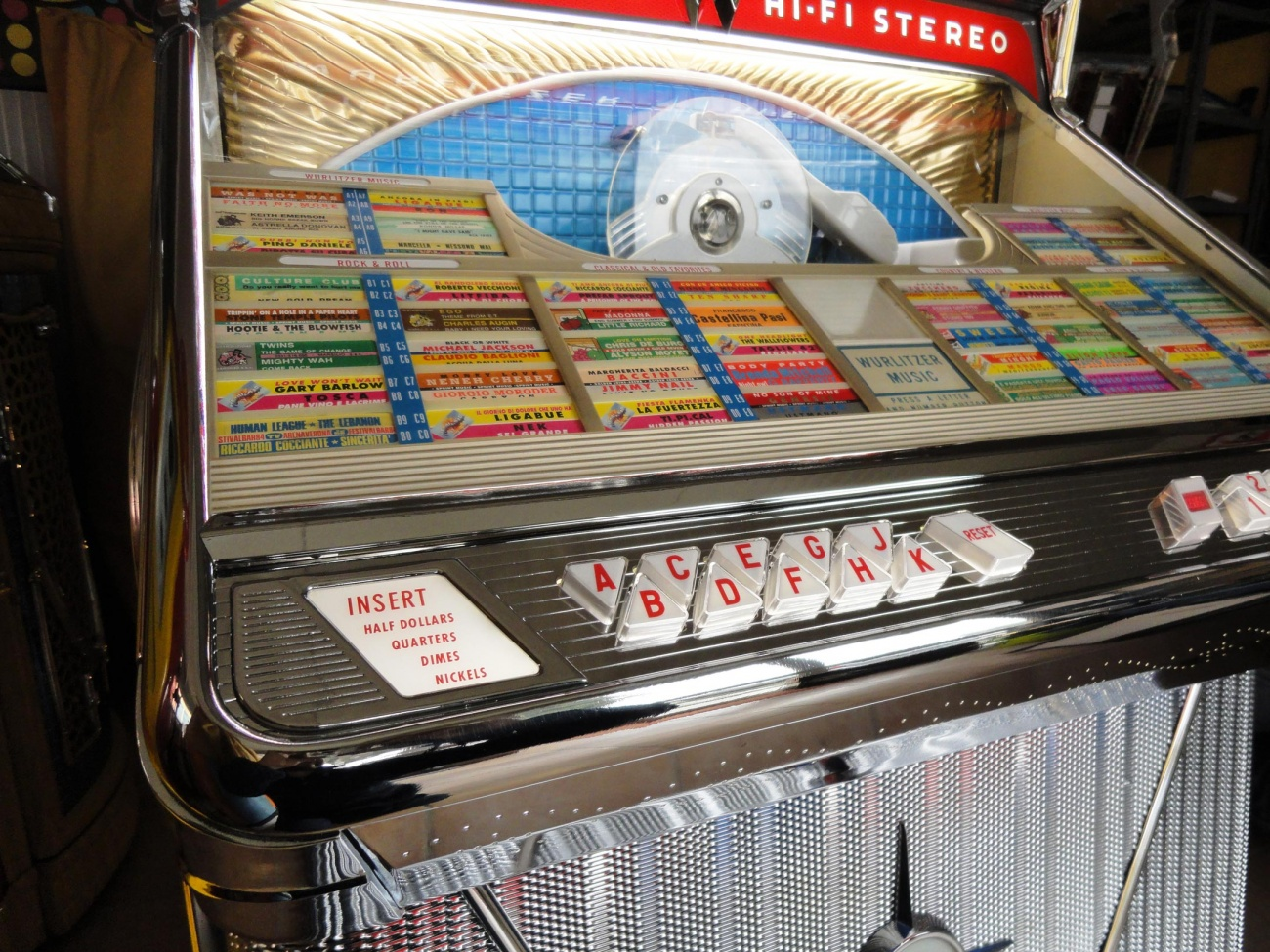 jukebox wurlitzer 2400
