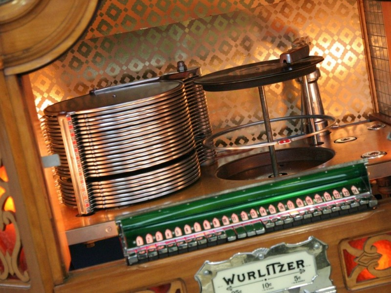jukebox wurlitzer 780